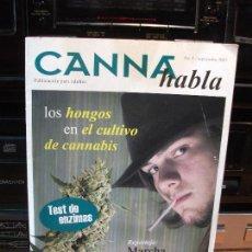 Coleccionismo Papel Varios: CANA HABLA Nº 1 SEPTIEMBRE 2007 TEST DE ENZIMAS . Lote 83160612