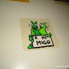 Coleccionismo Papel Varios: CAJ-35 PEGATINA E MI MIGO. Lote 83672288