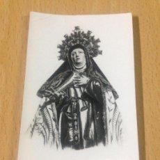 Coleccionismo Papel Varios: ANTIGUA ESTAMPA RELIGIOSA AÑO TERESIANO AVILA. Lote 84345660