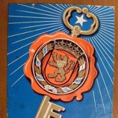 Coleccionismo Papel Varios: ZARAGOZA / EL VIGILANTE FELICITA A VD. LAS PASCUAS / 1970. Lote 84535356