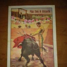Coleccionismo Papel Varios: ANTIGUO CARTEL TAURINO 1949. Lote 85634852