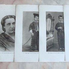 Coleccionismo Papel Varios: (ALB-TC-9) LOTE DE 32 LAMINAS FOTOGRAFIA VIDA DE MENENDEZ PELAYO MUY INTERESANTE VER FOTOS. Lote 86597996