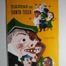 Coleccionismo Papel Varios: PROGRAMA FIESTAS SANTA TECLA 1964 TARRAGONA BB. Lote 87547032