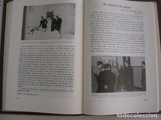 Coleccionismo Papel Varios: REUS AÑO 1958 - VRBS- HOMENAJE AL DR. ALEJANDRO FRIAS ROIG - VER FOTOS -(V-11.287) - Foto 6 - 87846704