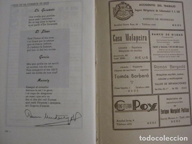 Coleccionismo Papel Varios: REUS AÑO 1958 - VRBS- HOMENAJE AL DR. ALEJANDRO FRIAS ROIG - VER FOTOS -(V-11.287) - Foto 13 - 87846704