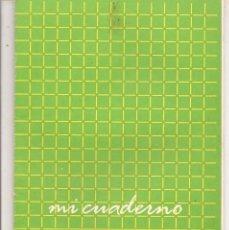 Paper Collecting Others - LIBRETA / CUADERNO ESCOLAR. MI CUADERNO. SIN USO. (P/C9) - 89002824