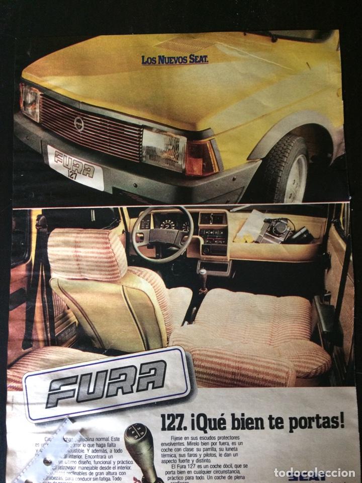 PUBLICIDAD AUTOMÓVIL SEAT 127 FURA (Coleccionismo en Papel - Varios)