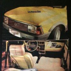 Coleccionismo Papel Varios: PUBLICIDAD AUTOMÓVIL SEAT 127 FURA. Lote 89471796