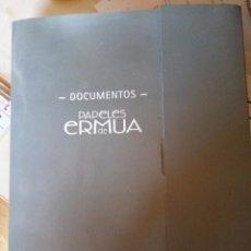 Coleccionismo Papel Varios: CARPETA DE DOCUMENTOS DEL FORO DE ERMUA - NÚMEROS 1 AL 4. Lote 89640916