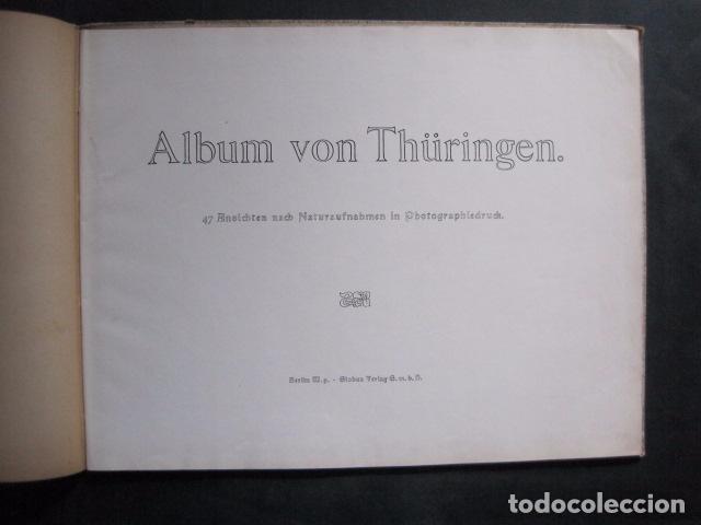 Coleccionismo Papel Varios: THÜRINGEN - ALBUM FOTOGRAFIAS -VER FOTOS -(V-11.743) - Foto 2 - 90470829