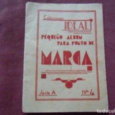 Coleccionismo Papel Varios: COLECCIONES IDEAL,PEQUEÑO ÁLBUM PARA PUNTO,SERIE A, Nº 4.. Lote 90567835