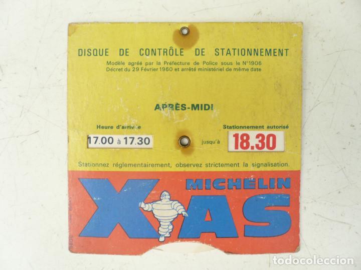 Coleccionismo Papel Varios: MICHELIN XAS DISCO DE CONTROL DE ESTACIONAMIENTO. FRANCIA - Foto 2 - 90578895
