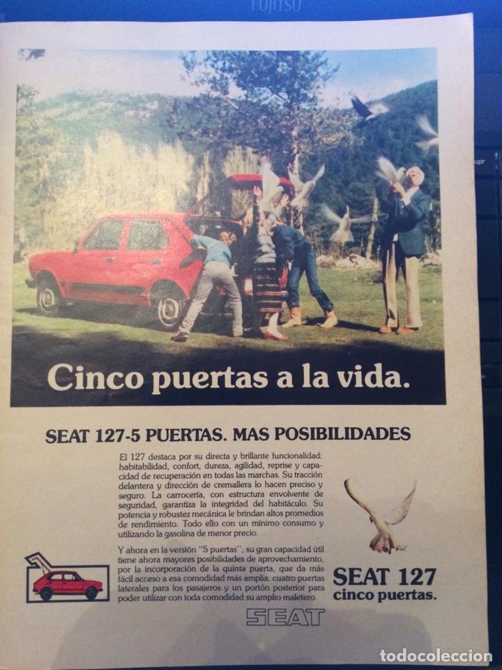 PUBLICIDAD AUTOMÓVIL SEAT 127 DE 1980 (Coleccionismo en Papel - Varios)