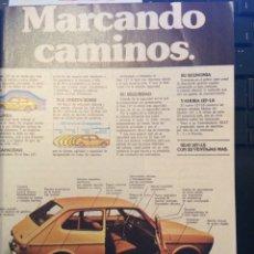 Coleccionismo Papel Varios: PUBLICIDAD AUTOMÓVIL SEAT 127. Lote 91961325