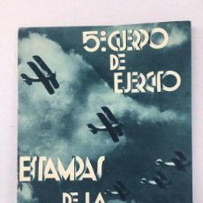 Collectionnisme Papier divers: CUADERNO ESTAMPAS DE LA GUERRA. Lote 108715990