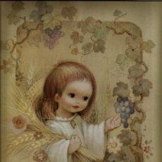 Collectionnisme Papier divers: LAMINA RECUERDO DE LA PRIMERA COMUNION - EDICIONES BUSQUETS - 24 X 34 CM. Lote 92257555