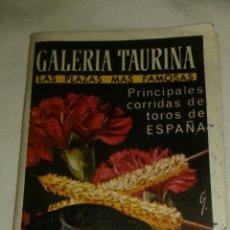 Coleccionismo Papel Varios: GALERÍA TAURINA. Lote 92264550