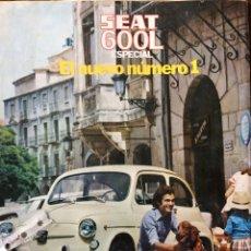 Coleccionismo Papel Varios: PUBLICIDAD AUTOMÓVIL SEAT 600 L ESPECIAL DE 1972. Lote 93838082