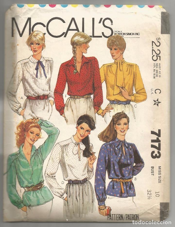 86262e7574 SOBRE Nº 7173 CON PATRONES DE VESTIDOS 1979 (Coleccionismo en Papel -