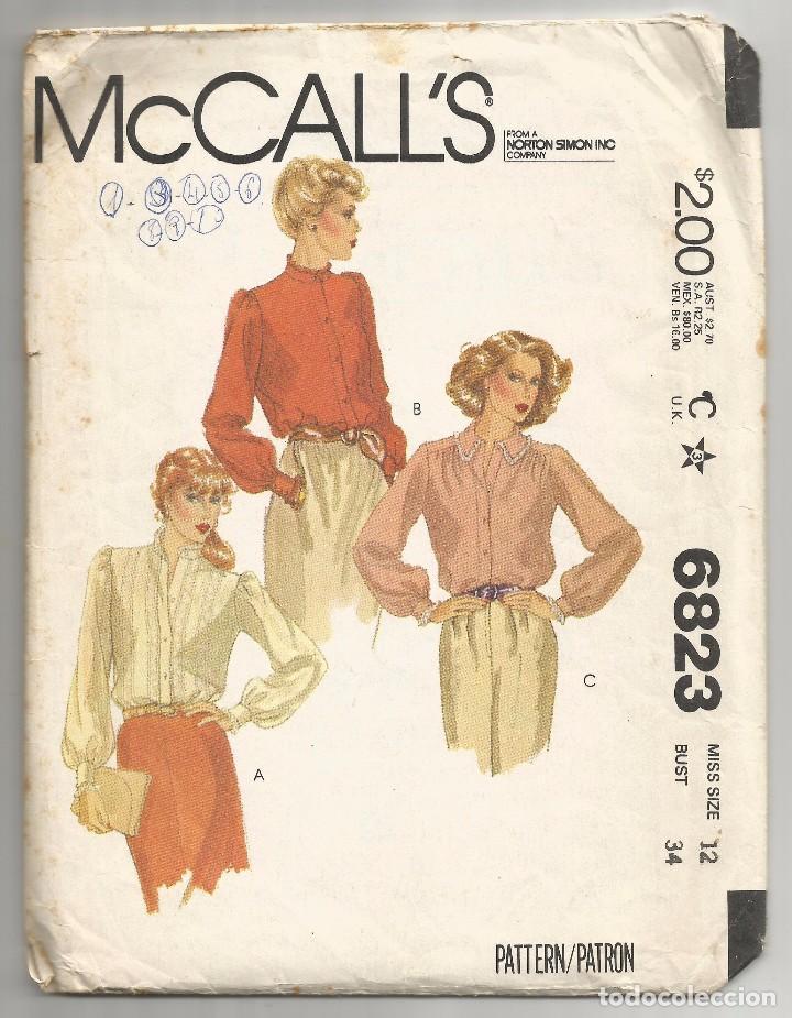 dc4c6e2d94 SOBRE Nº 6823 CON PATRONES DE VESTIDOS 1979 (Coleccionismo en Papel -