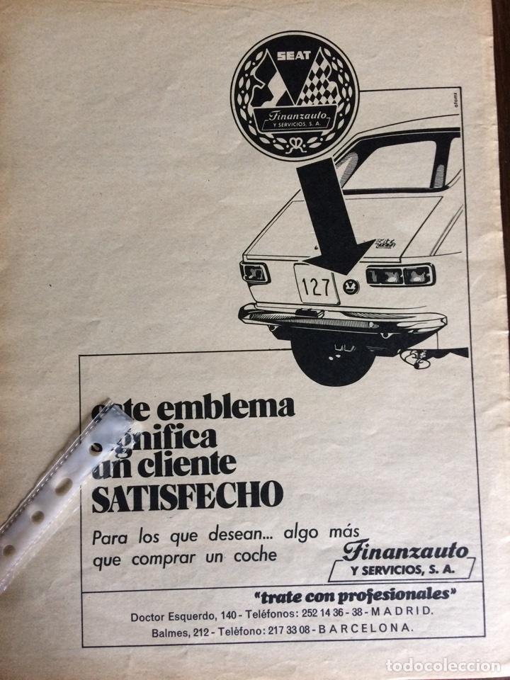 PUBLICIDAD AUTOMÓVIL SEAT 127 FINANZAUTO (Coleccionismo en Papel - Varios)
