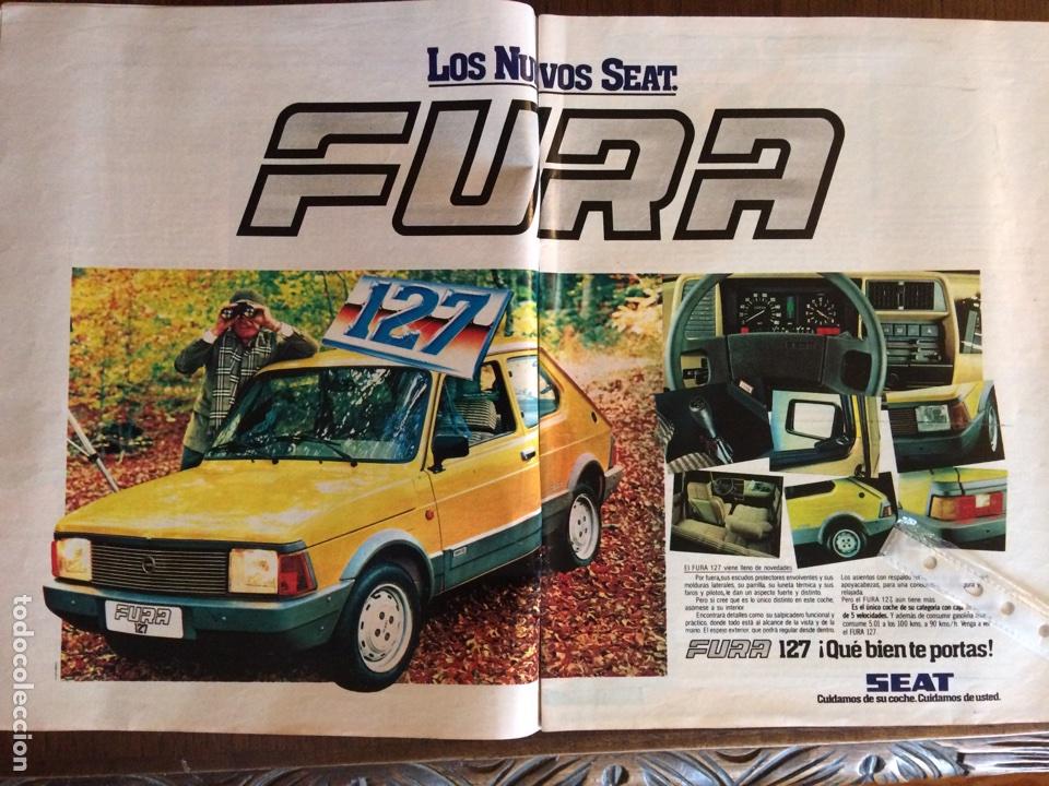 PUBLICIDAD AUTOMÓVIL SEAT 127 FURA DE 1981 (Coleccionismo en Papel - Varios)
