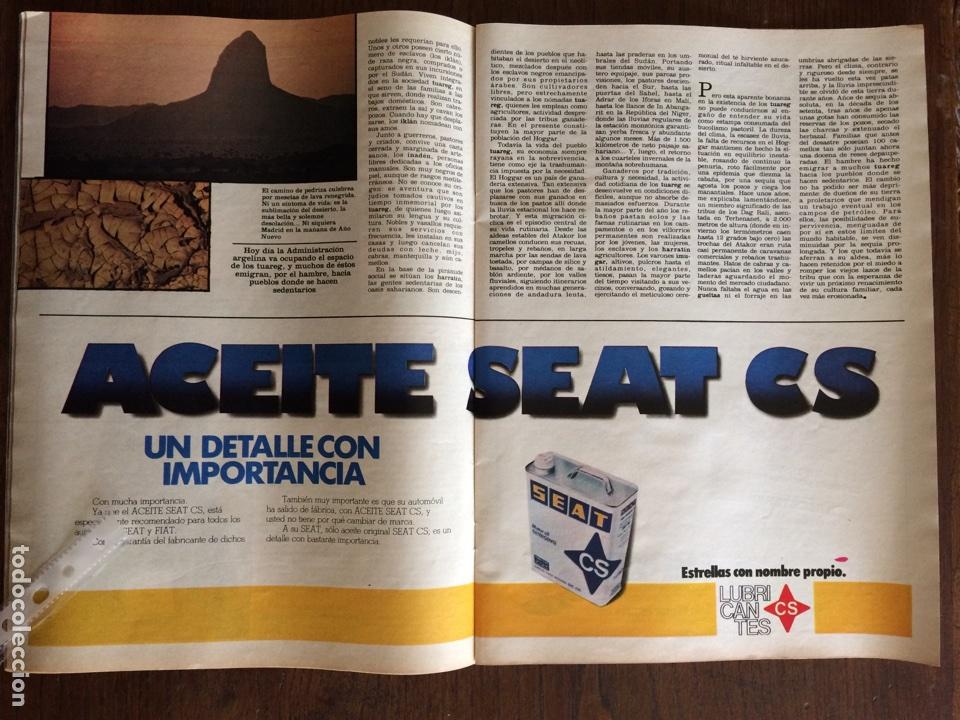 PUBLICIDAD ACEITE CS SEAT AUTOMÓVIL DE 1982 (Coleccionismo en Papel - Varios)
