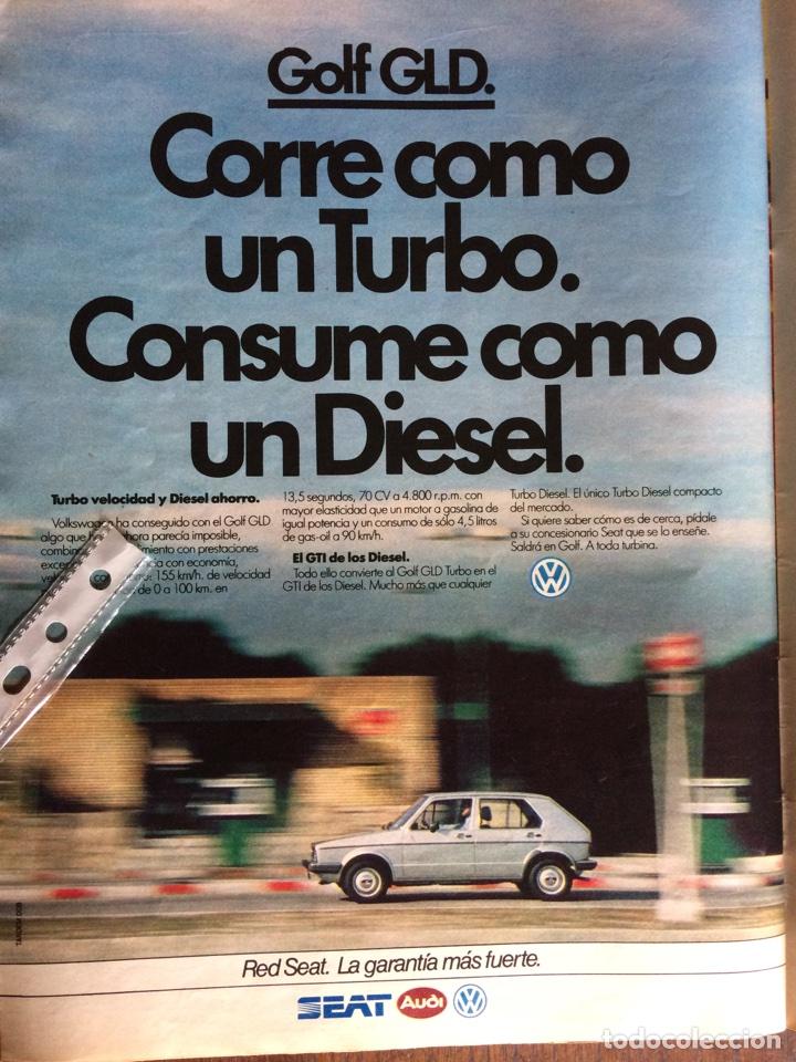 PUBLICIDAD AUTOMÓVIL VW VOLKSWAGEN GOLD GLD DE 1983 (Coleccionismo en Papel - Varios)