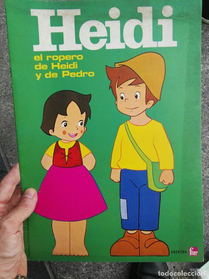 CUENTO FHER HEIDI (Coleccionismo en Papel - Varios)