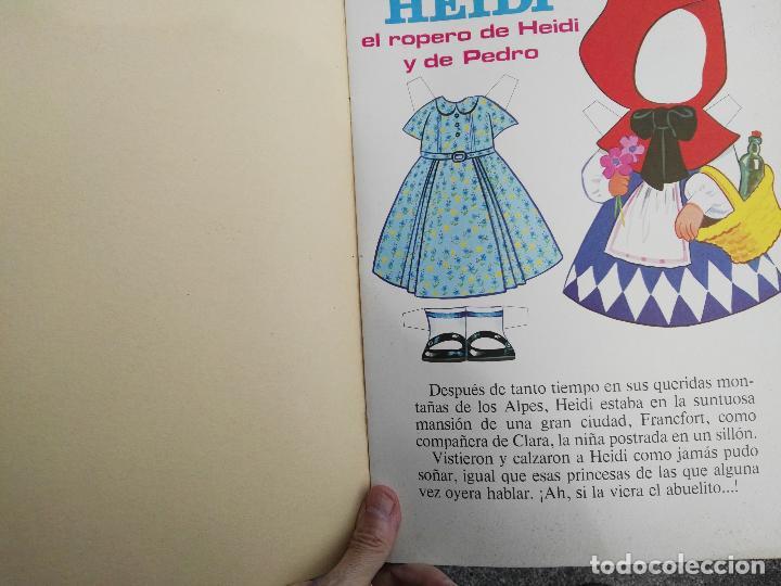 Coleccionismo Papel Varios: Cuento fher heidi - Foto 2 - 97420859