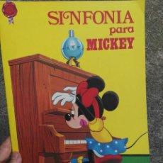 Coleccionismo Papel Varios: CUENTO FHER. SINFONIA PARA MICKEY. Lote 97423719