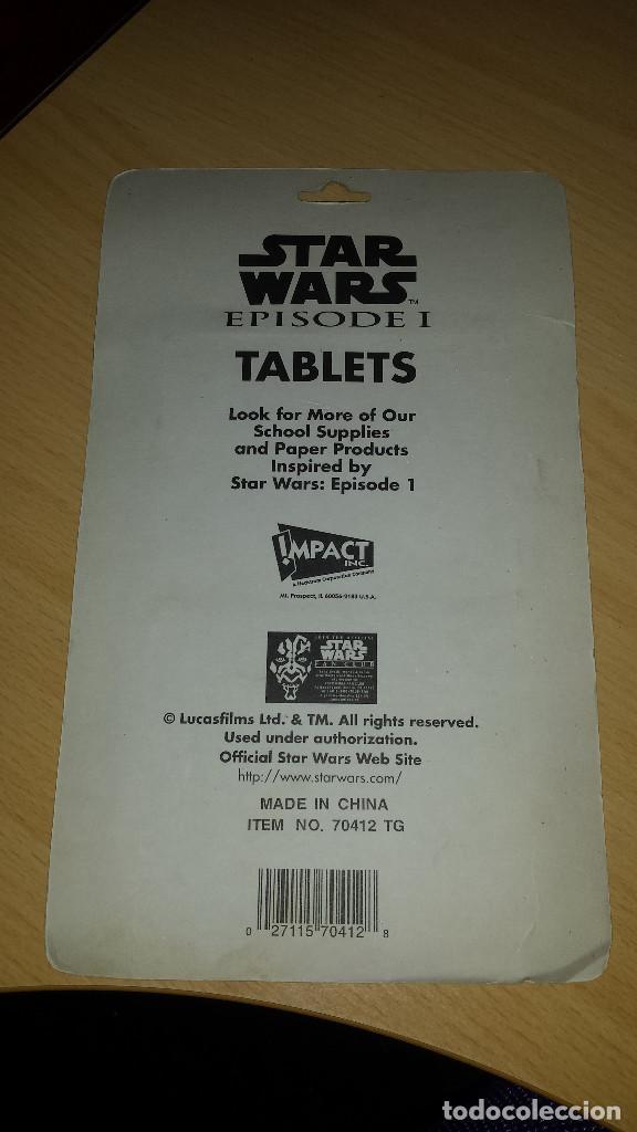Coleccionismo Papel Varios: Tabletas, libretitas Star Wars Anakin Skywalker para anotaciones o recordatorios en su blister. - Foto 2 - 97574439