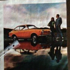 Coleccionismo Papel Varios: PUBLICIDAD AUTOMÓVIL SEAT 850 COUPE. Lote 97803310