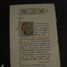 Coleccionismo Papel Varios: SANT FELIU DE GUIXOLS - ANY 1912 - CORPUS- VEURE FOTOS - (V-11.980). Lote 97935635