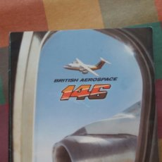 Coleccionismo Papel Varios: BRITISH AEROSPACE 146 FOTOGRAFIAS EN CARPETA DE FABRICA. Lote 97985111