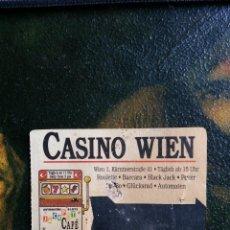 Coleccionismo Papel Varios: ENTRADA CASINO WIEN - VIENA .. Lote 98107759