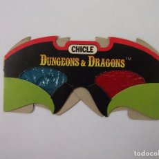 Coleccionismo Papel Varios: GAFAS TRIVISION. 3D. DUNGEONS & DRAGONS. CHICLE. 3 DIMENSIONES. TDKP12. Lote 98198791