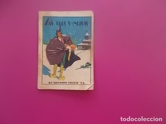 CUENTO SATURNINO CALLEJA /JOYAS PARA NIÑOS / CUENTOS MORALES AÑOS 50 / LAS TRES SONRISAS (Coleccionismo en Papel - Varios)