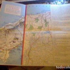 Coleccionismo Papel Varios: HOJA PUBLICIDAD MAPA FIRESTONE 1967 . Lote 98785219