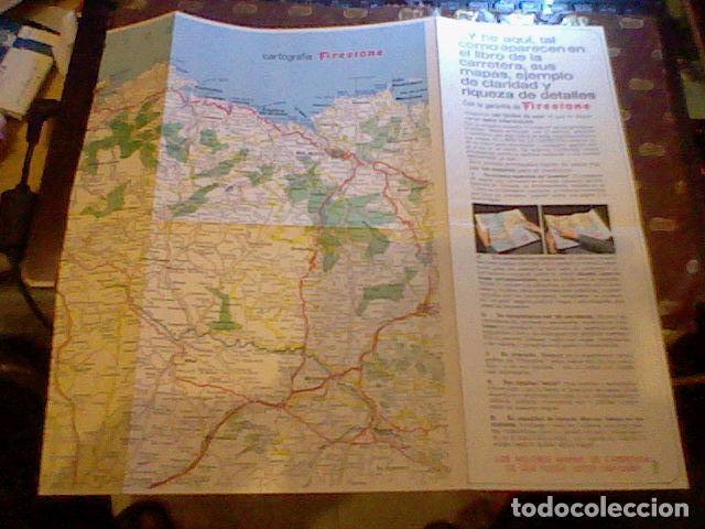 Coleccionismo Papel Varios: hoja publicidad mapa firestone 1967 - Foto 2 - 98785219