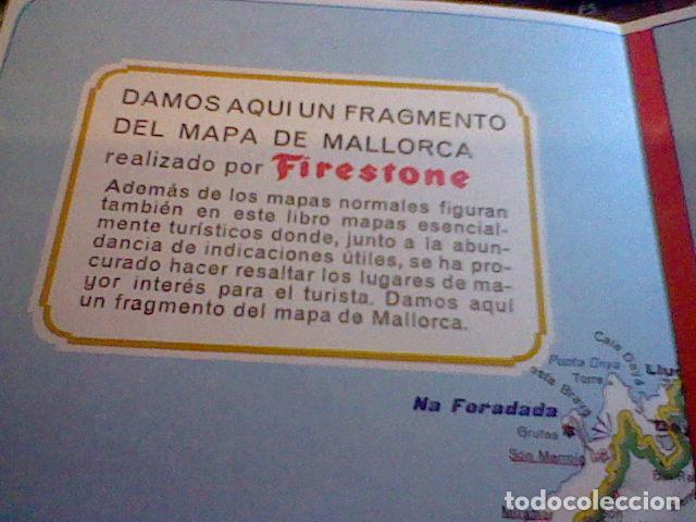 Coleccionismo Papel Varios: hoja publicidad mapa firestone 1967 - Foto 3 - 98785219