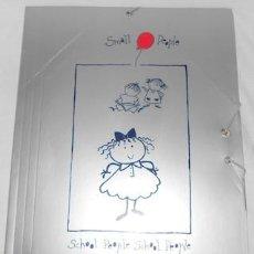 Coleccionismo Papel Varios: CARPETA SMALL PEOPLE DE BUSQUETS. Lote 98795271
