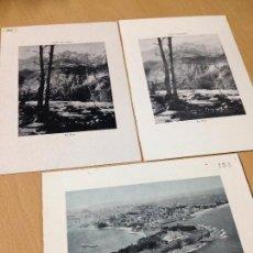 Coleccionismo Papel Varios: ANTIGUAS LÁMINAS FOTOGRÁFICAS SANTANDER. Lote 98873167