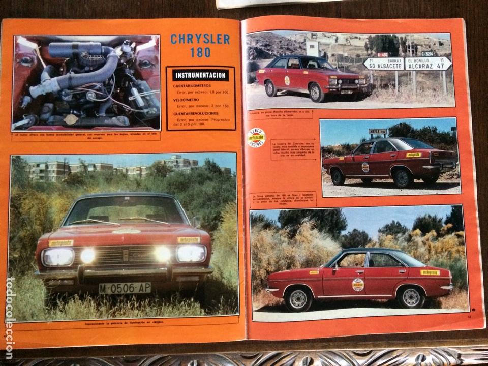 Coleccionismo Papel Varios: Reportaje automóvil Chrysler 180 de 1975 - Foto 2 - 98883259