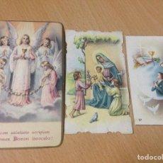 Coleccionismo Papel Varios: ANTIGUAS ESTAMPAS RELIGIOSAS RECORDATORIOS FENAZAR MURCIA. Lote 99374375