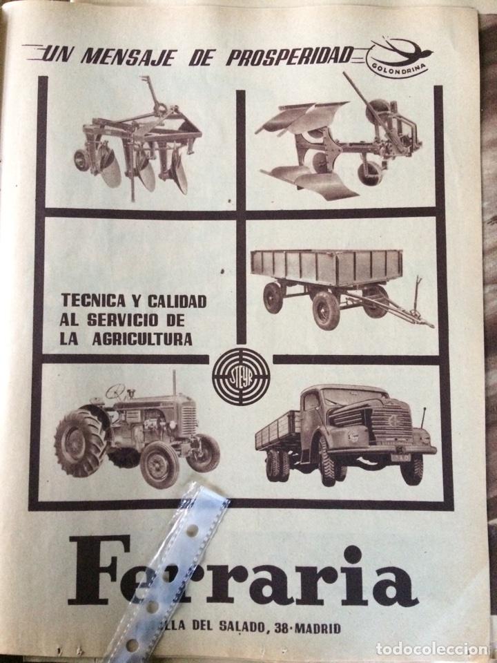 PUBLICIDAD CAMIÓN TRACTORES STEYR DE 1957 (Coleccionismo en Papel - Varios)
