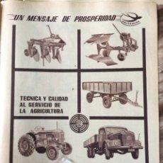Coleccionismo Papel Varios: PUBLICIDAD CAMIÓN TRACTORES STEYR DE 1957. Lote 99460723