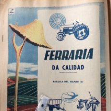 Coleccionismo Papel Varios: PUBLICIDAD TRACTORES STEYR DE 1956. Lote 99461496