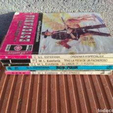Coleccionismo Papel Varios: LOTE NOVELAS ESTEFANIA. Lote 99482975