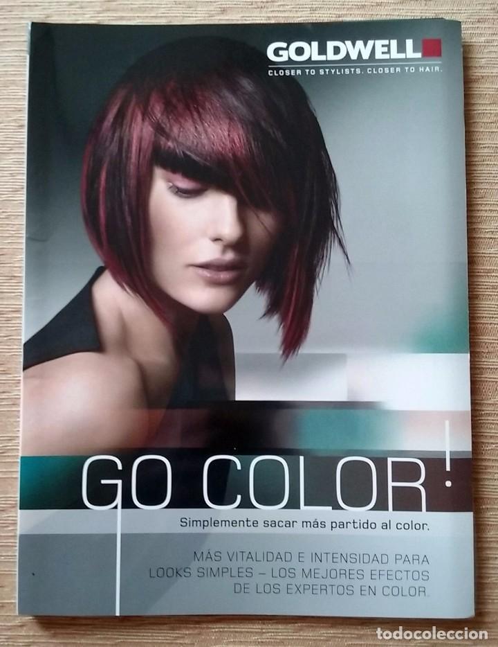 revista go color nº 2. goldwell. peluquería. - Comprar en ...